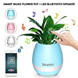 Flowerpot that plays music and light games