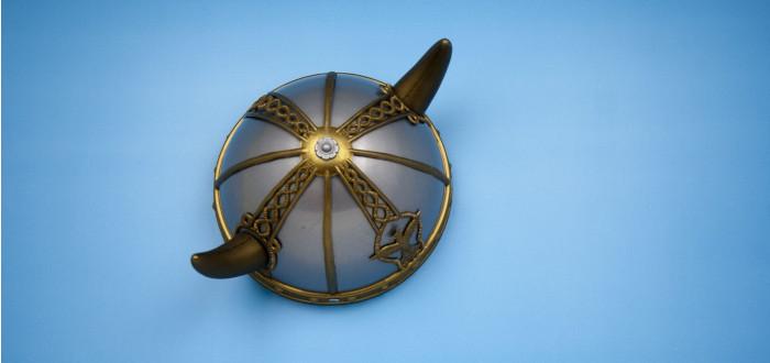 Horn Viking helmet