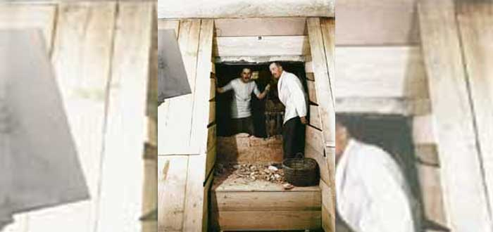 Who discovered the Tomb of Tutankhamun? two