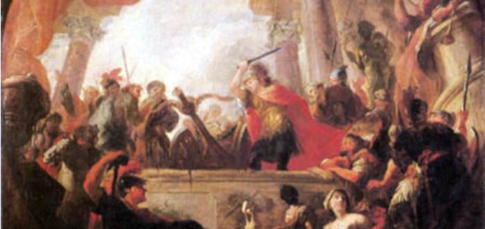The Gordian Knot Alexander
