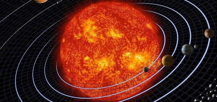 solar system, solar storm