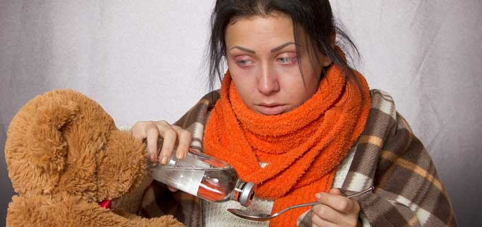 Do you know how to distinguish a cold from a flu? two