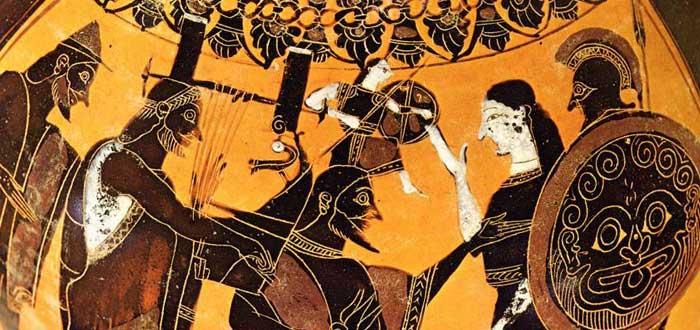 3 Myths of the goddess Athena 2