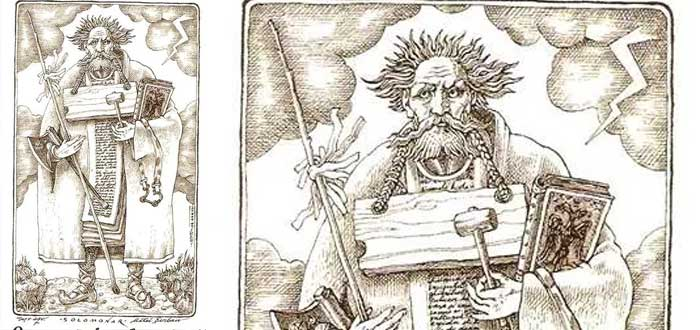 The Solomonari, the mythological magicians who dominated the dragons 1