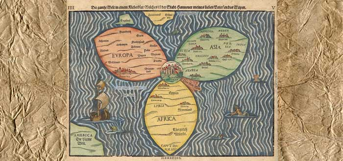 5 Ancient World Maps Bestials 1