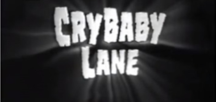 Cry Baby Lane title