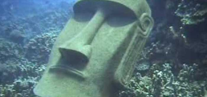 The submerged Moai of Easter Island 2