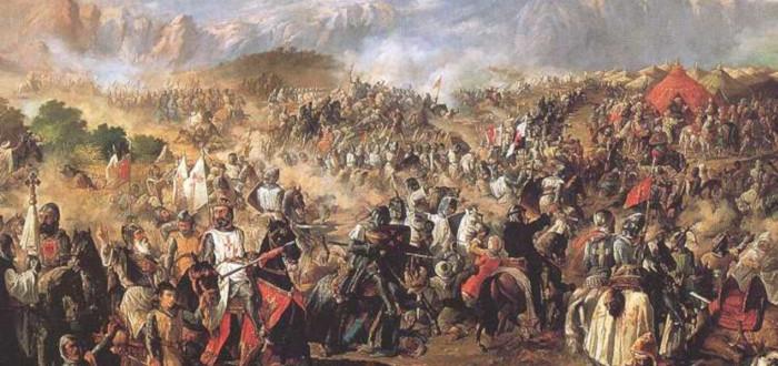 Battle of Las Navas de Tolosa detail