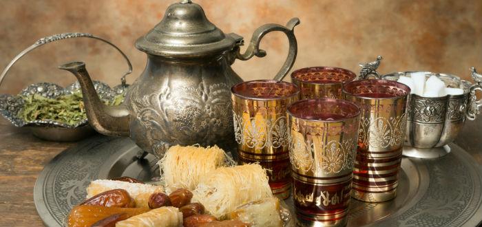 curiosities of Morocco, green tea