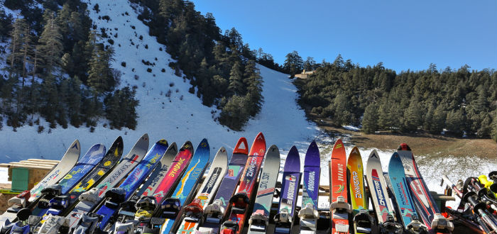 curiosities of Morocco, skiing