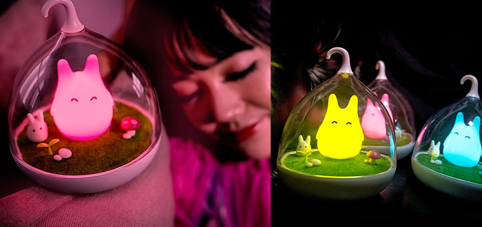 very curious gifts, night light Totoro