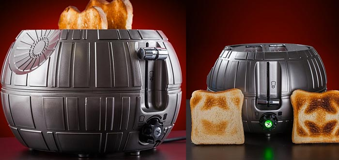 very original gifts, death star toaster