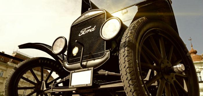 Aloha Wanderwell, Ford Model T
