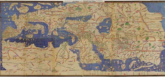 5 Ancient World Maps Bestials 4