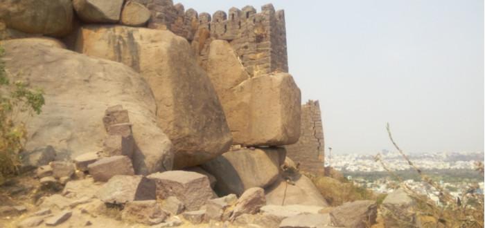 Abandoned castles golconda