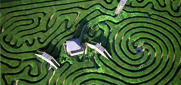 10 Real Difficult Labyrinths for awakened minds 5