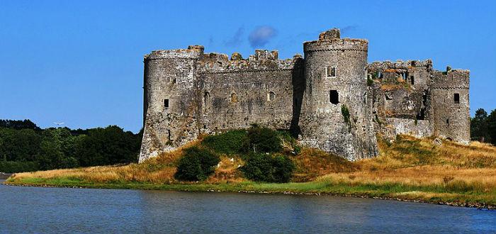carew castle, wales, abandoned castles