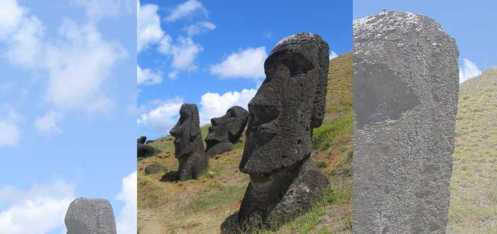 The submerged Moai of Easter Island 3