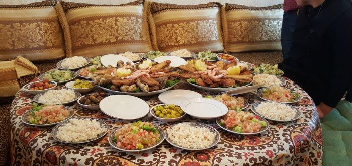 curiosities of Morocco, food